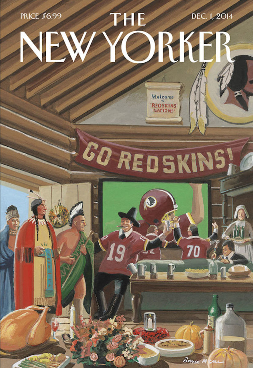 washington redskins new yorker cover