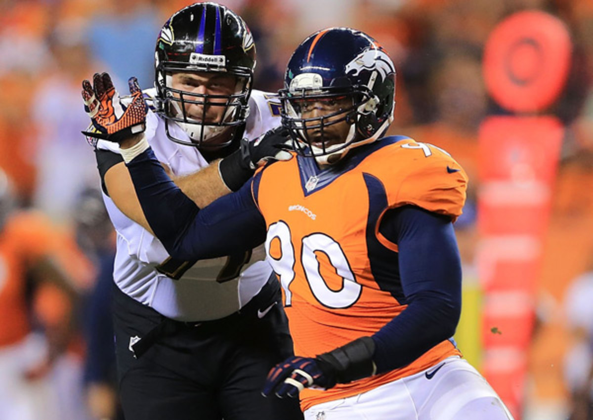 Shaun Phillips agrees to deal with Tennessee Titans