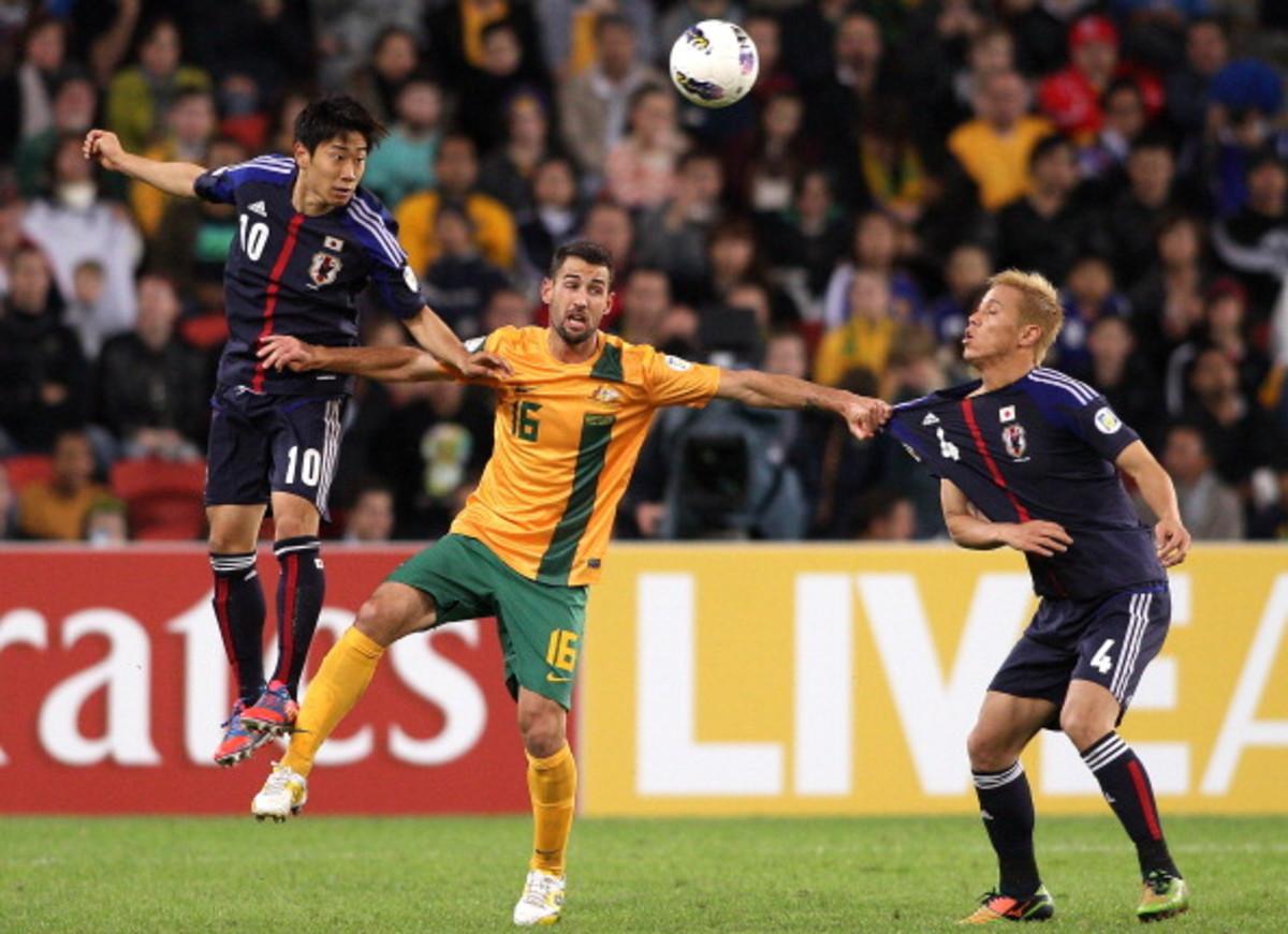 Australia v Japan - FIFA World Cup Asian Qualifier