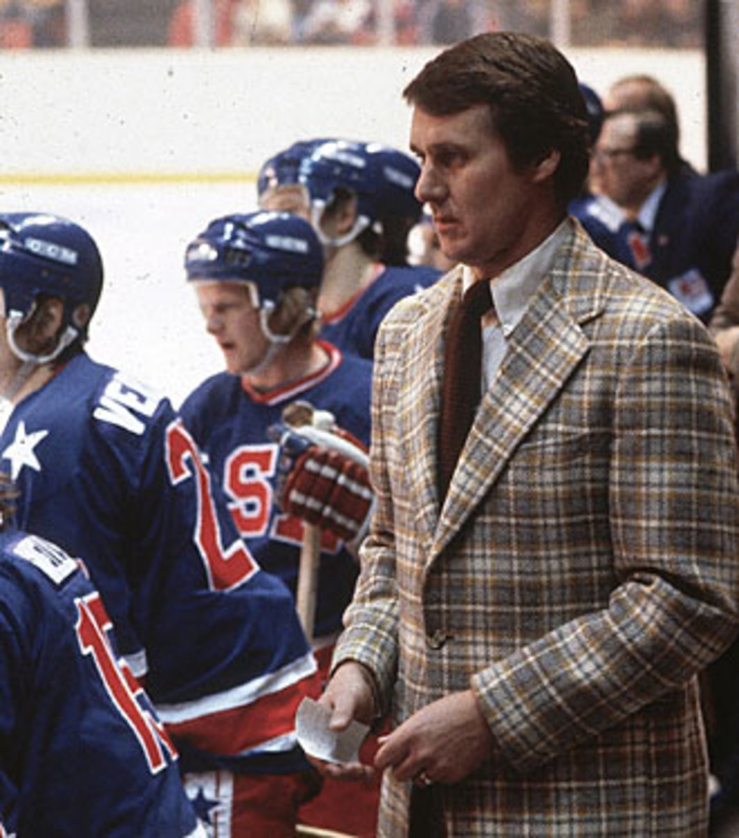 Head coach Herb Brooks was the ideal man to lead the Americans to glory.