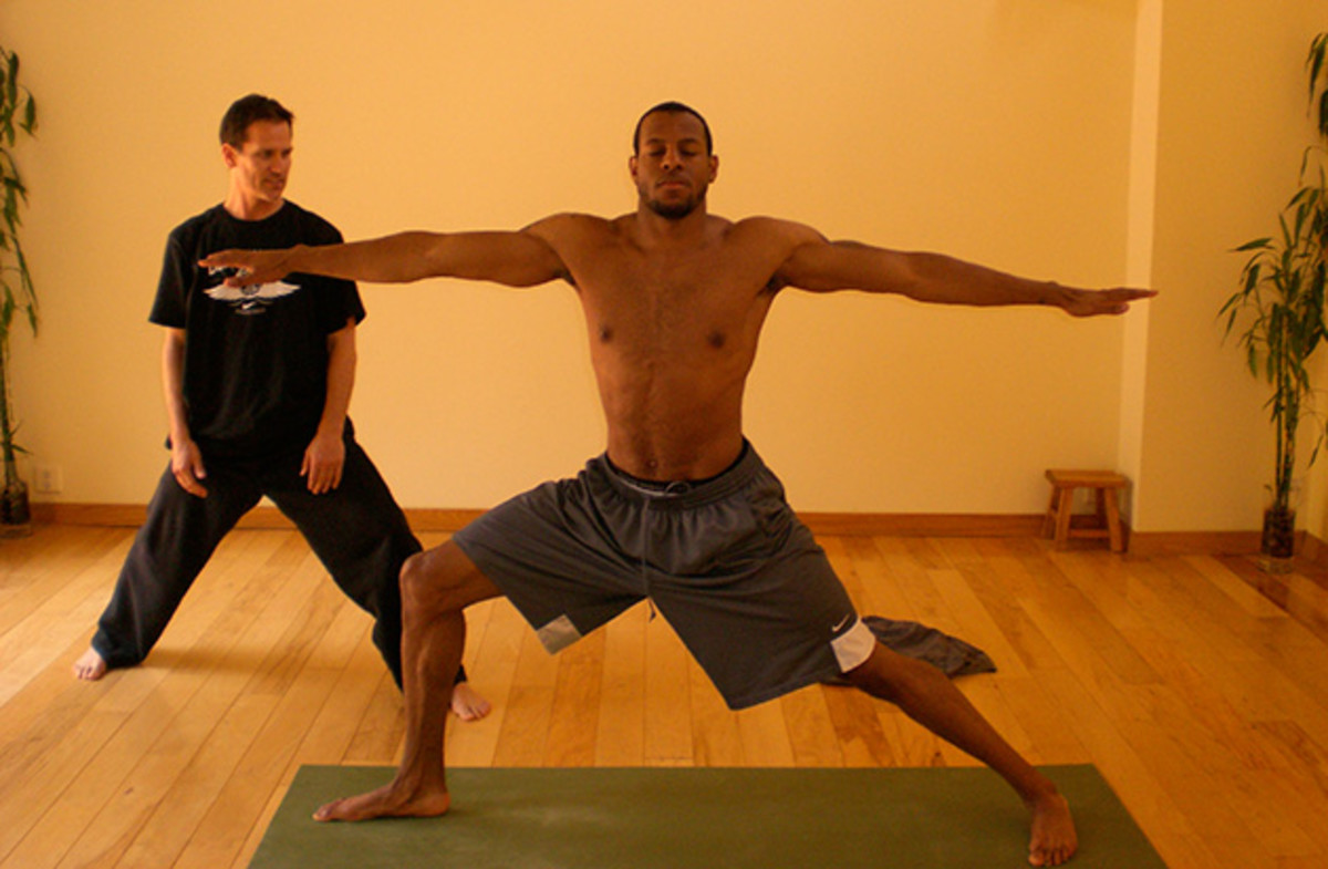 Katich works individually with players throughout the league, including Andre Iguodala.