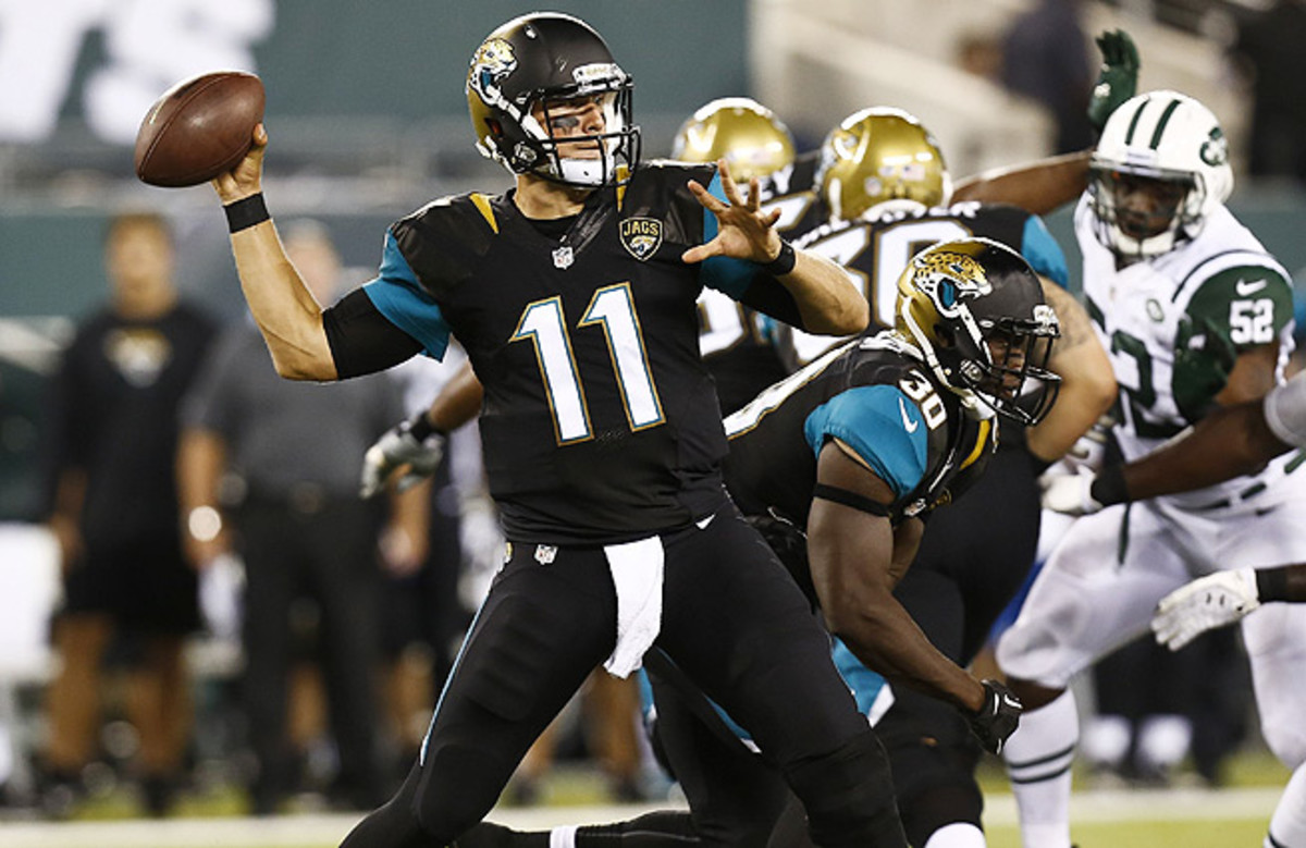 The Jaguars finally closed the book on Blaine Gabbert this week, trading the No. 10 pick to the 49ers.
