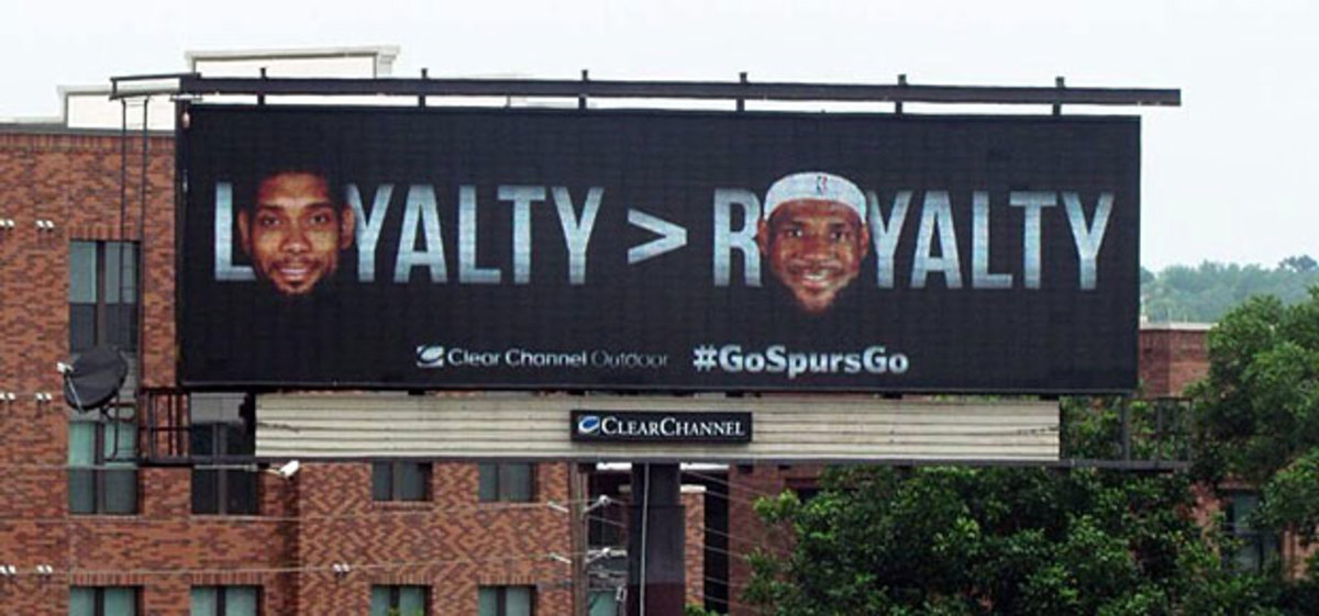 Tim Duncan billboard