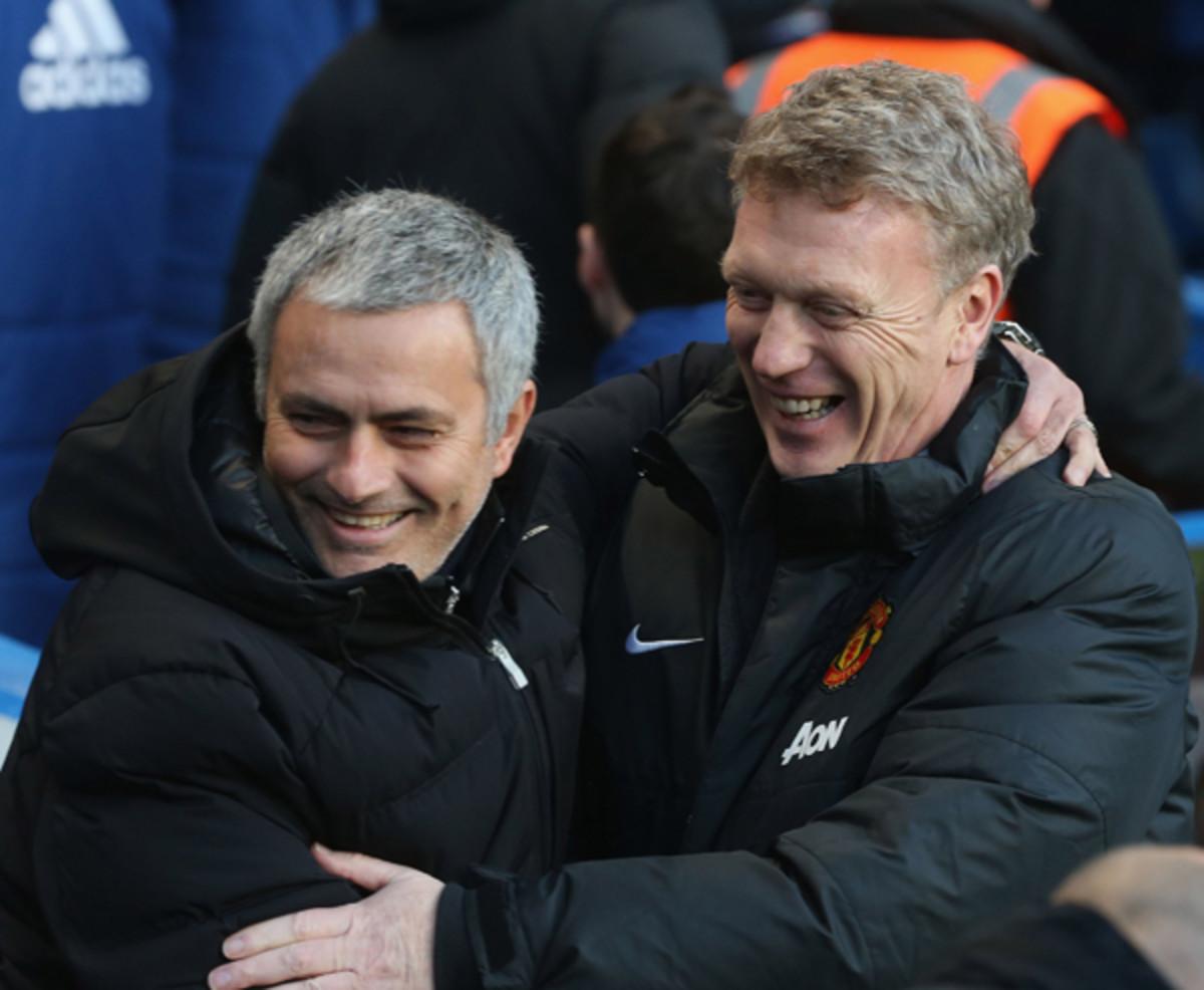 Jose Mourinho, David Moyes