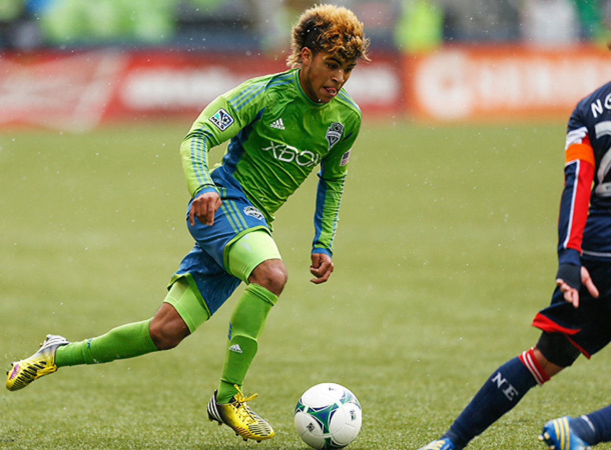 DeAandre Yedlin remains a promising young player for the Seattle Sounders and for the national team. (Otto Greule Jr/Getty Images)