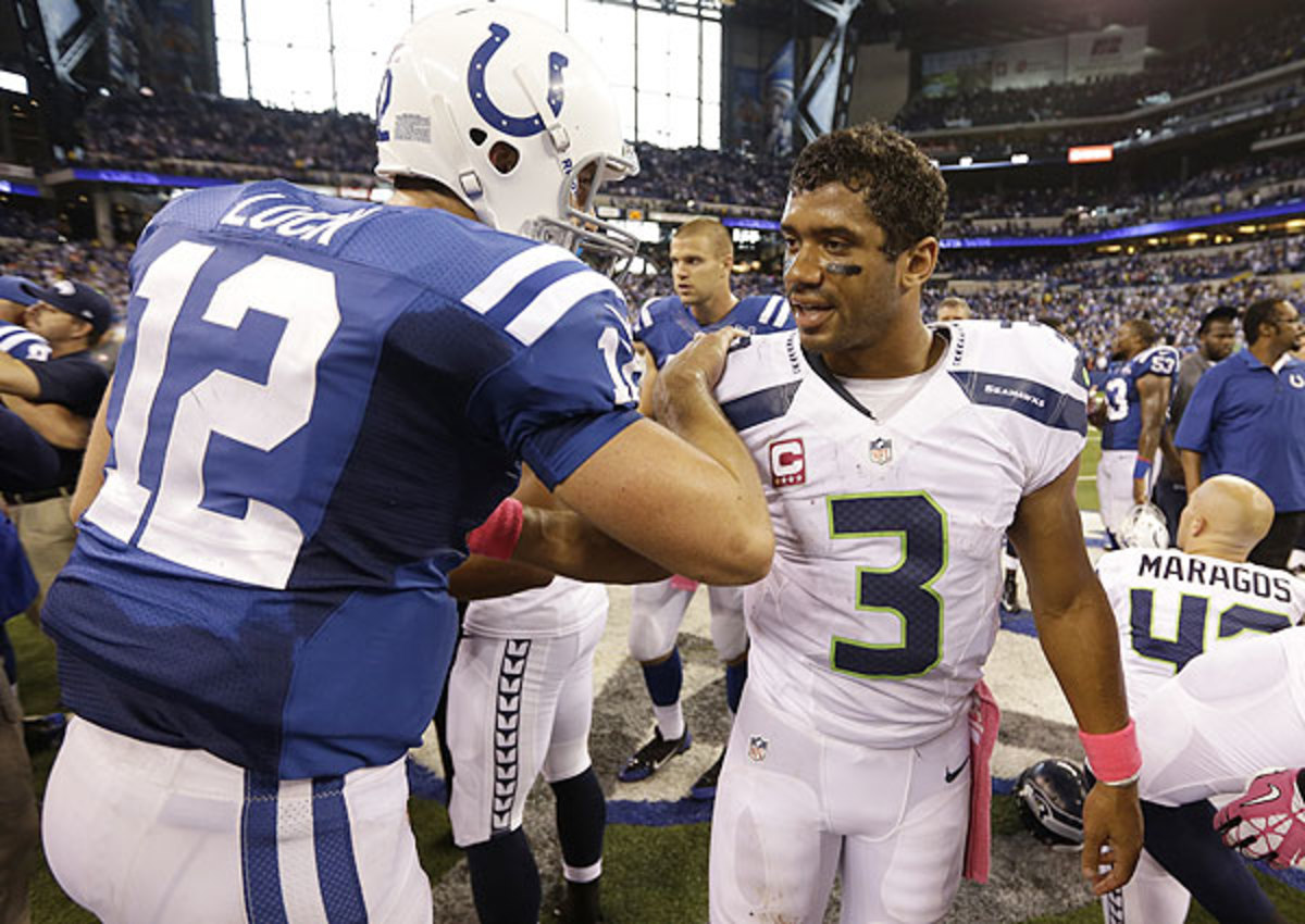 Russell Wilson, Andrew Luck could exceed Colin Kaepernick's contract with new deals