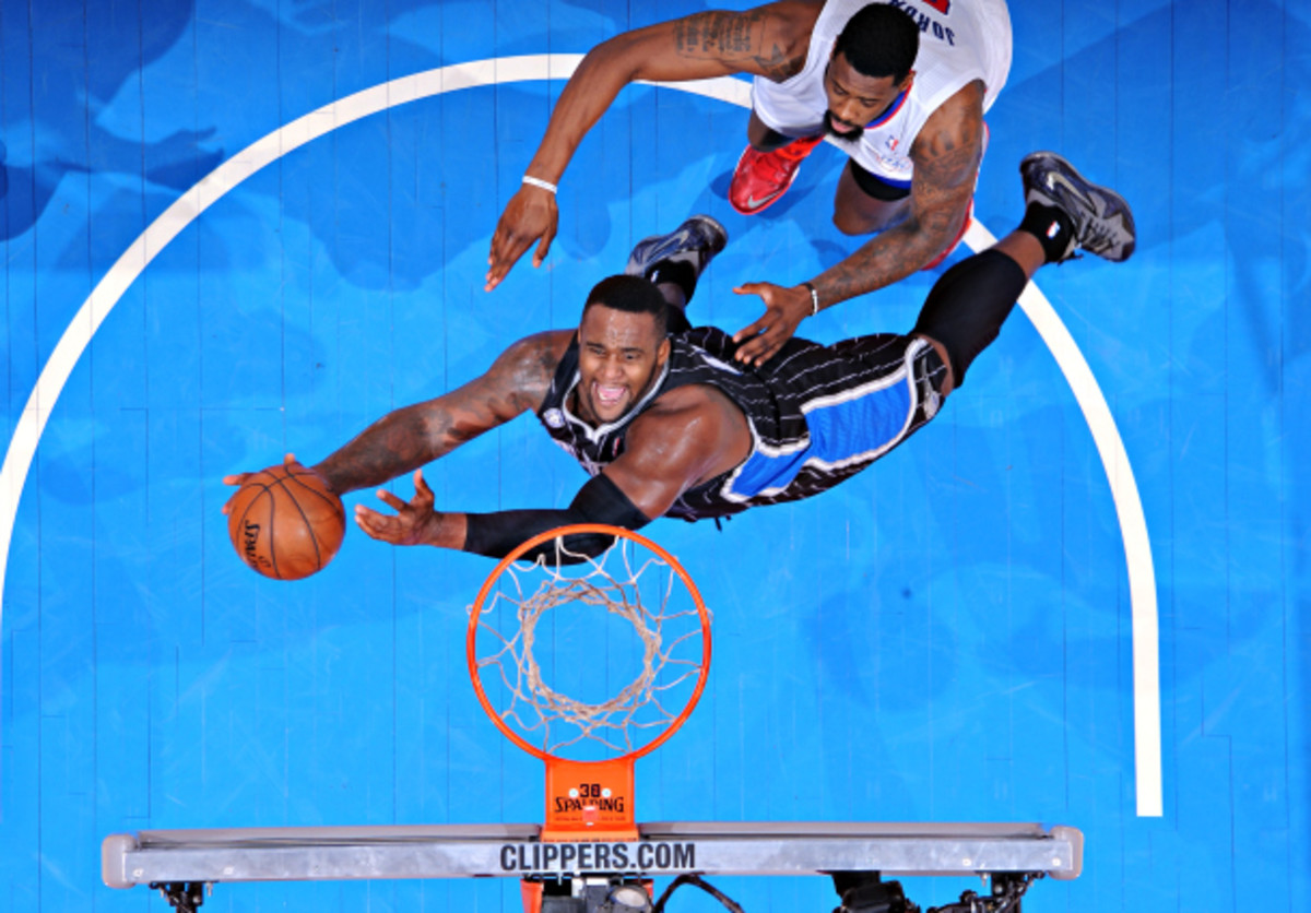 The...acrobatic Glen Davis will bolster the Clippers' frontcourt rotation. (Andrew D. Bernstein/NBAE via Getty Images)