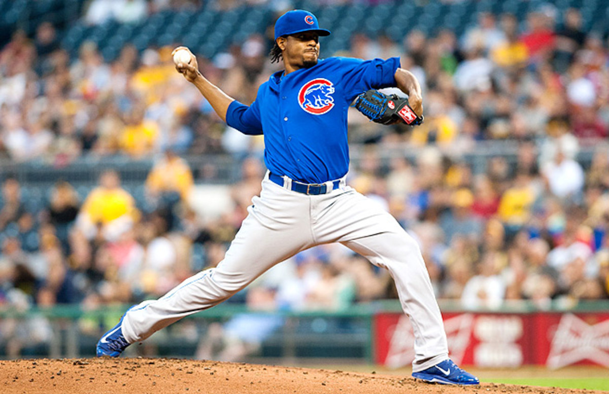 If you're looking to get strikeouts, Edwin Jackson may be your best weekend streaming option.