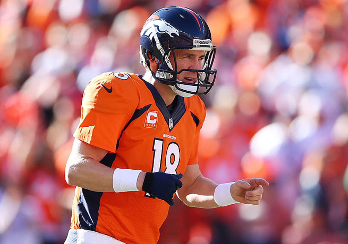 Peyton Manning's calls at the line of scrimmage have garnered a lot of attention this postseason.
