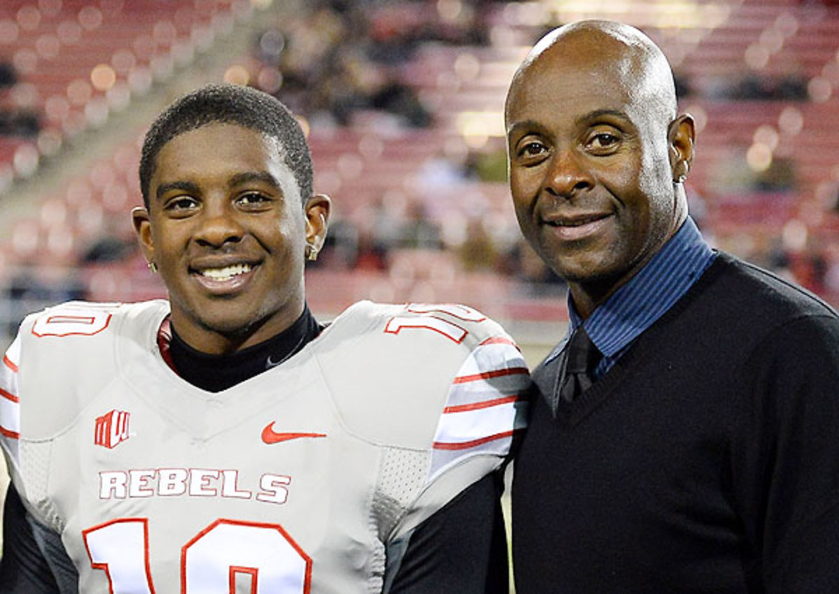 Son of Jerry Rice works out for 49ers at local pro day