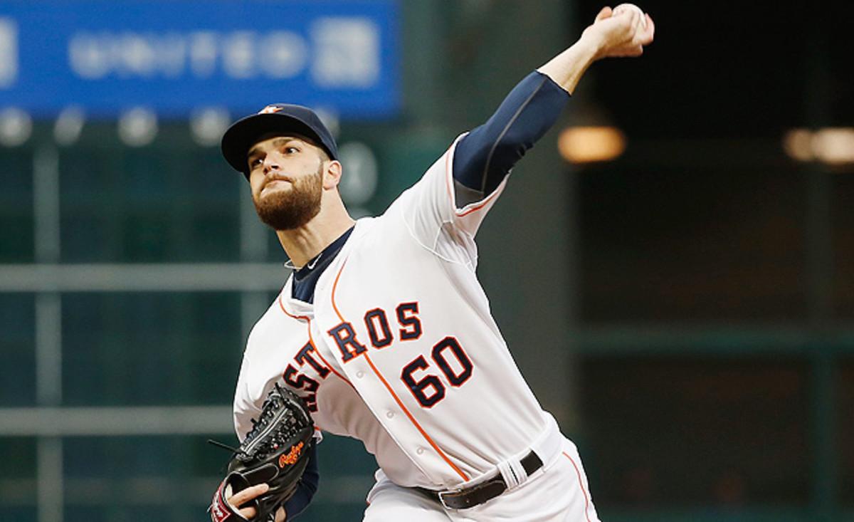 The Astros' Dallas Keuchel has revamped his slider, which has increased his fantasy value.