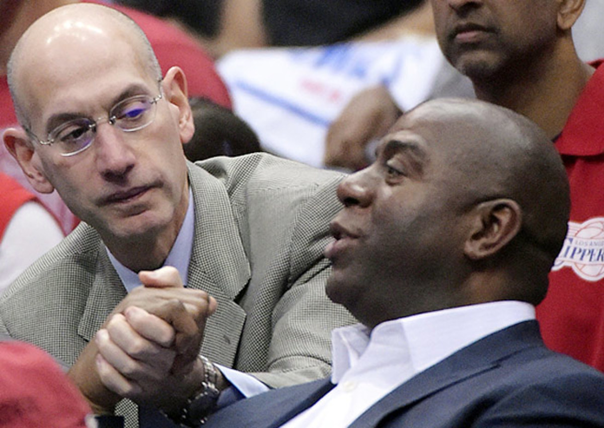 Adam Silver consulted many before ousting Donald Sterling, but he always had Magic on his mind.