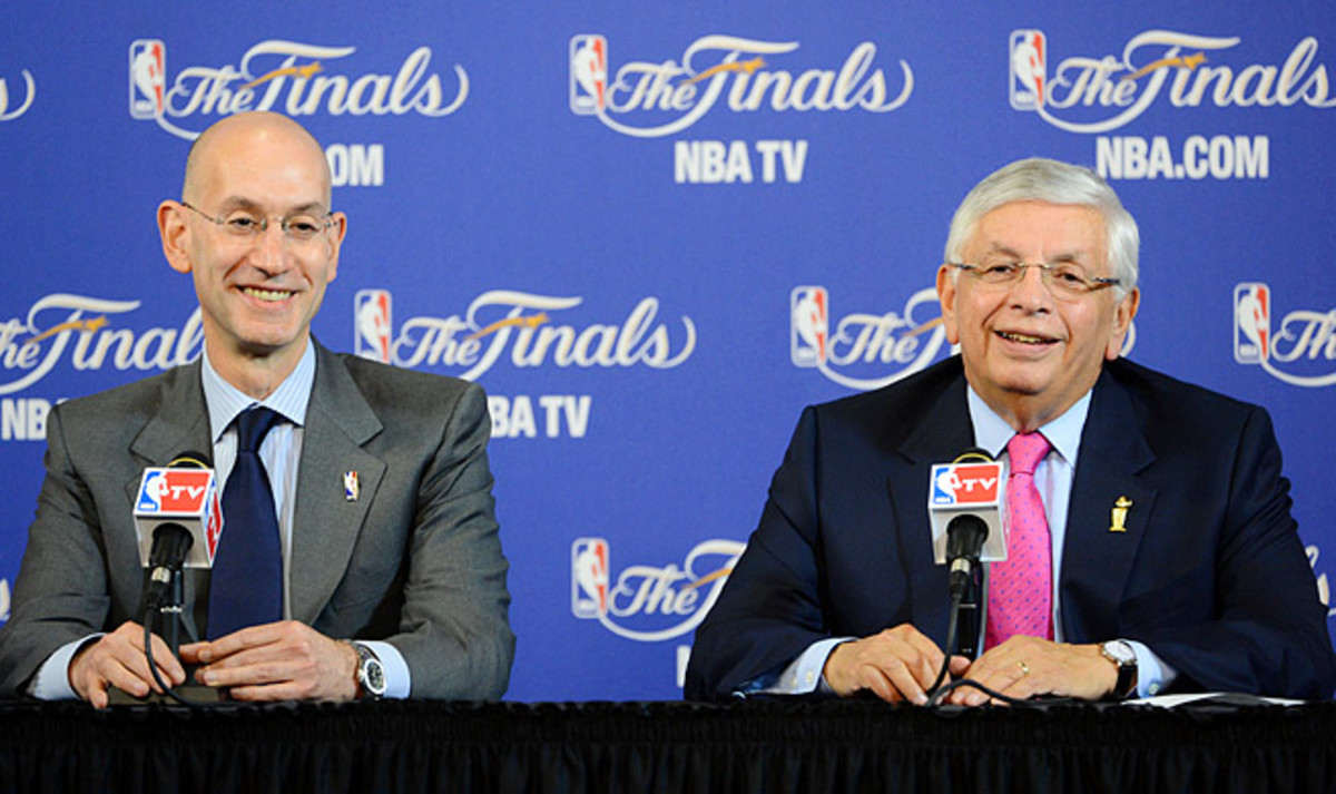 Adam Silver hasn't shied away from shaking up the status quo established by predecessor David Stern.