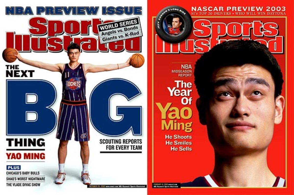 2002: Yao Ming