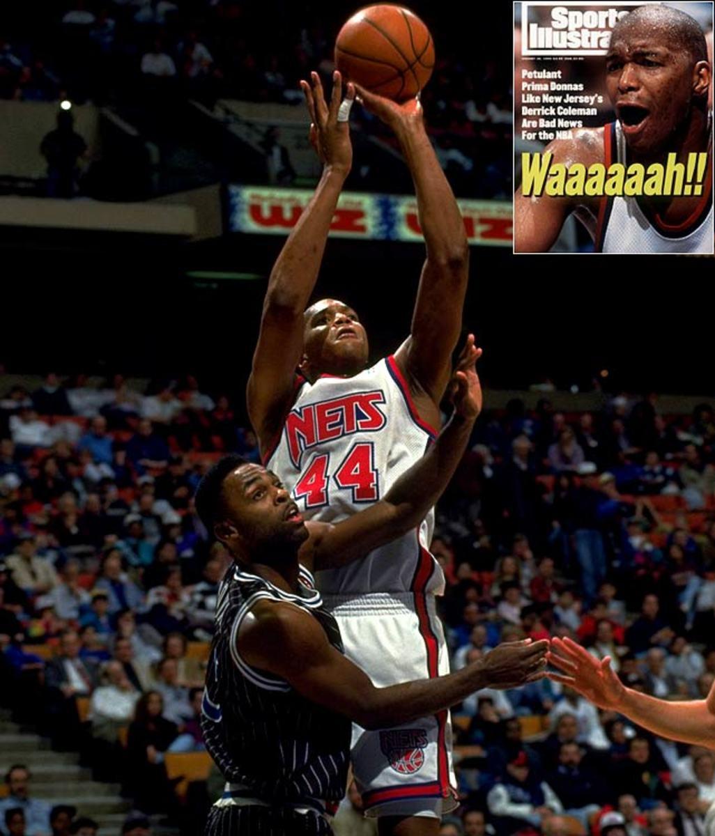 1990: Derrick Coleman