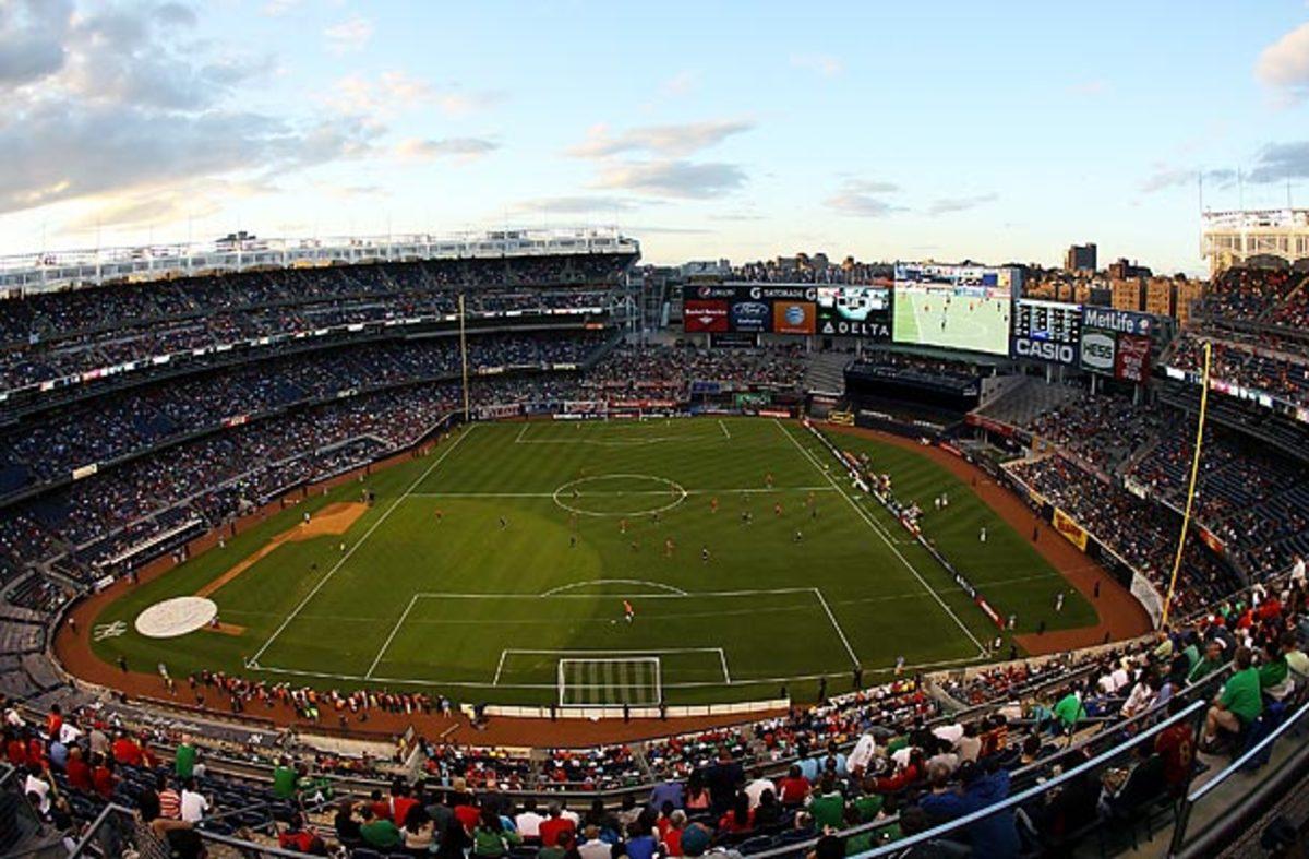 Yankee Stadium soccer