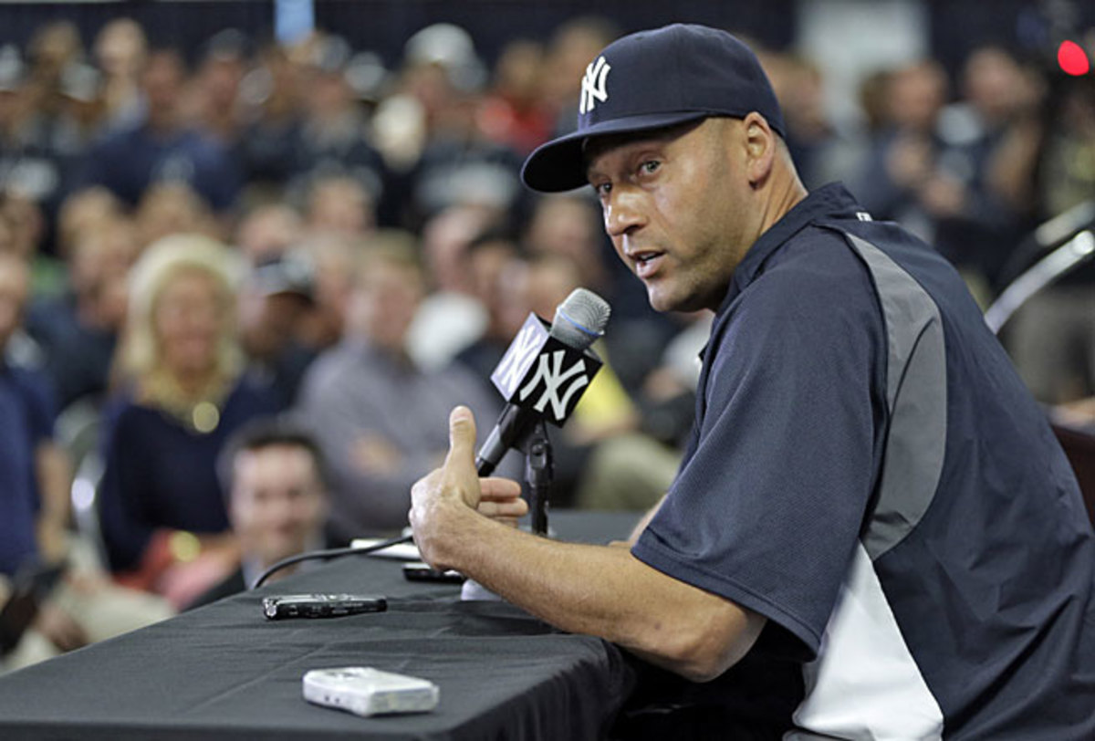 "Wednesday's ""media availability"" was Derek Jeter's latest success at defining things on his terms."