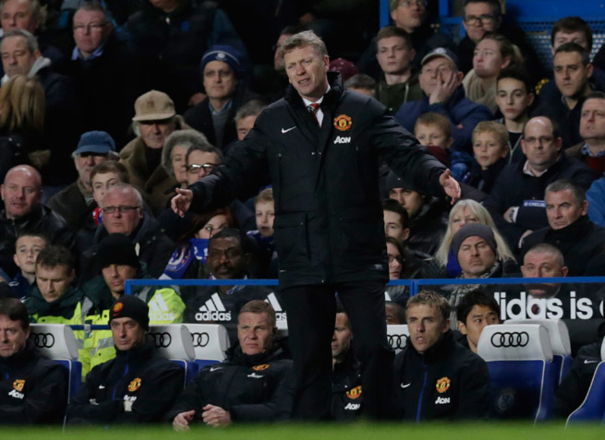 This season has been full of frustrating expressions for first-year Manchester United manager David Moyes.