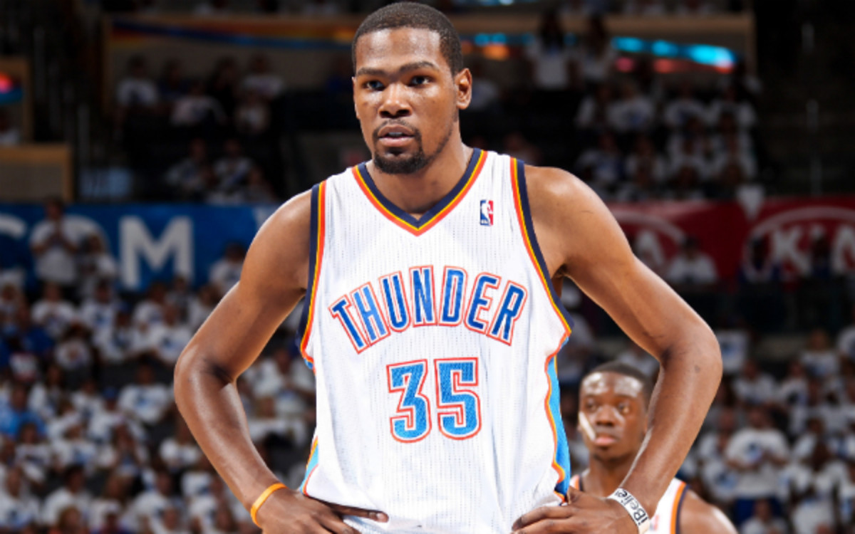 Thunder forward Kevin Durant officially signed with Roc Nation Sports. (Joe Murphy/Getty Images)