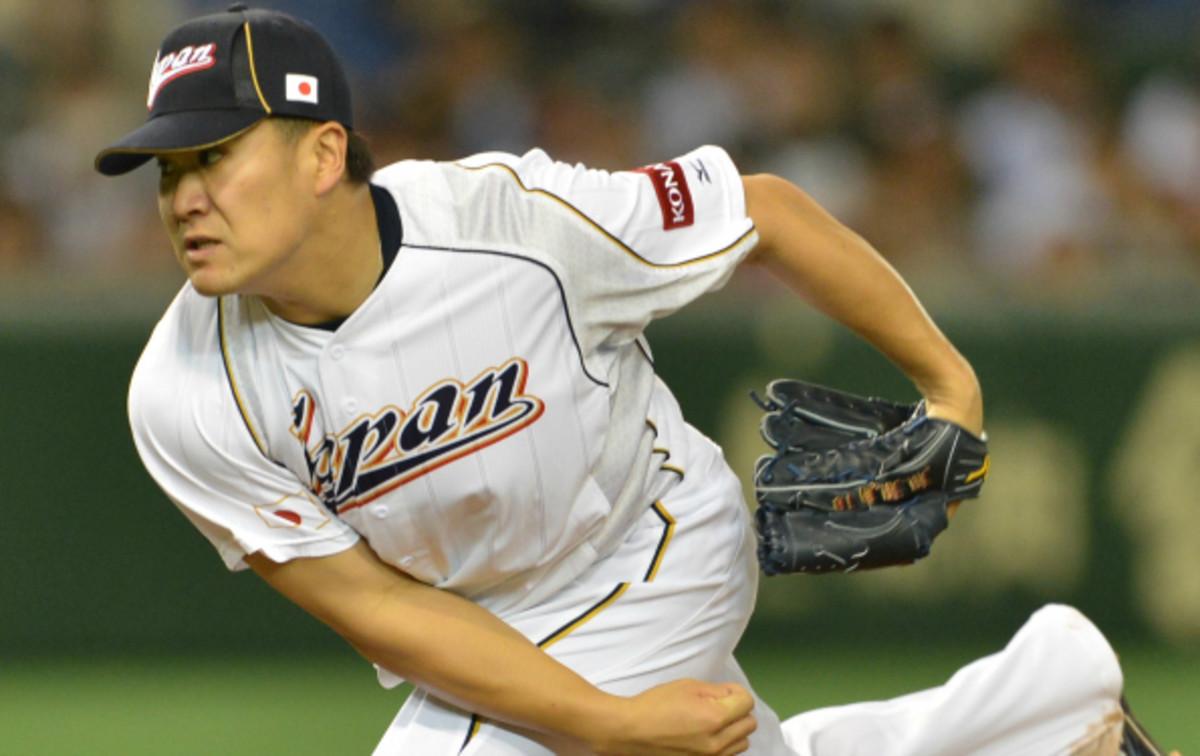 Masahiro Tanaka had a WHIP of just 0.943 last season in the Japan League. (Kazuhiro Nogi/AFP)