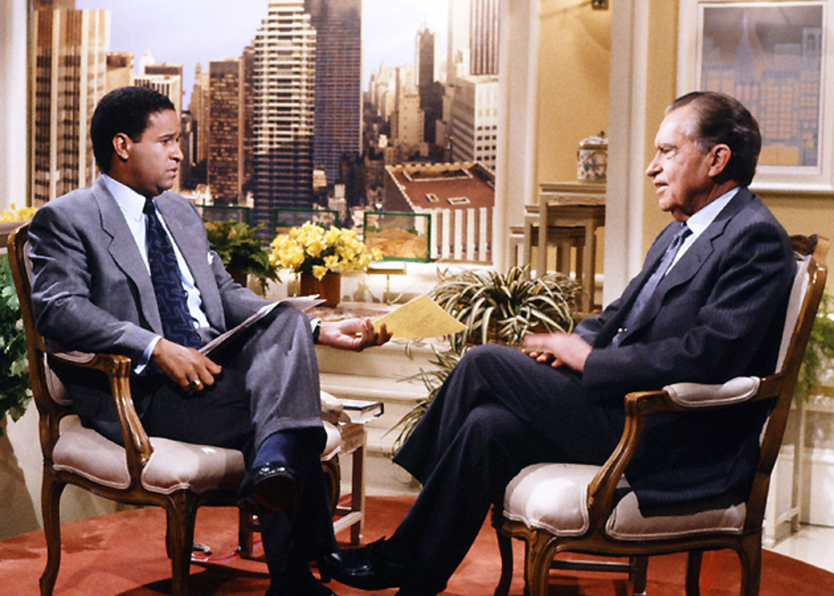 Bryant Gumbel interviewed several high-profile figures during his time on Today, including former president Richard Nixon.