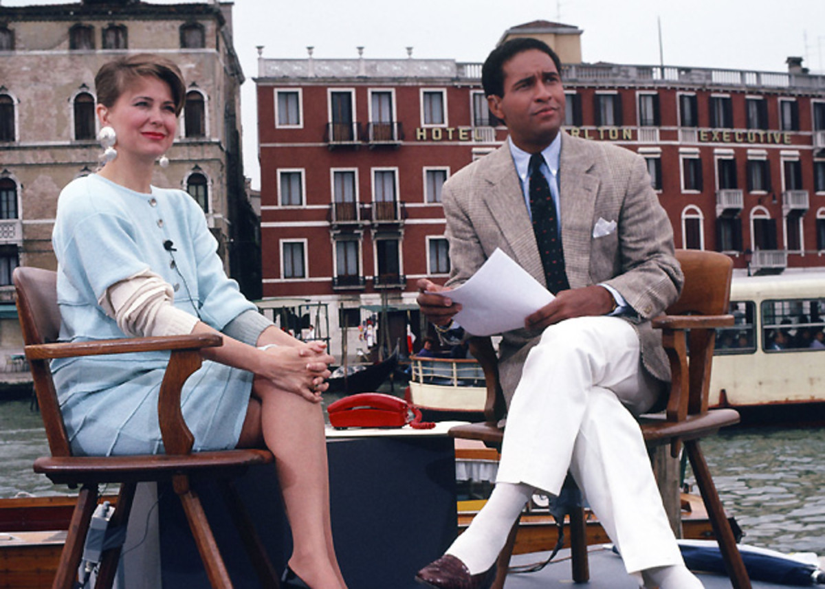 Bryan Gumbel had conflicts with several colleagues at NBC, including Jane Pauley (left).