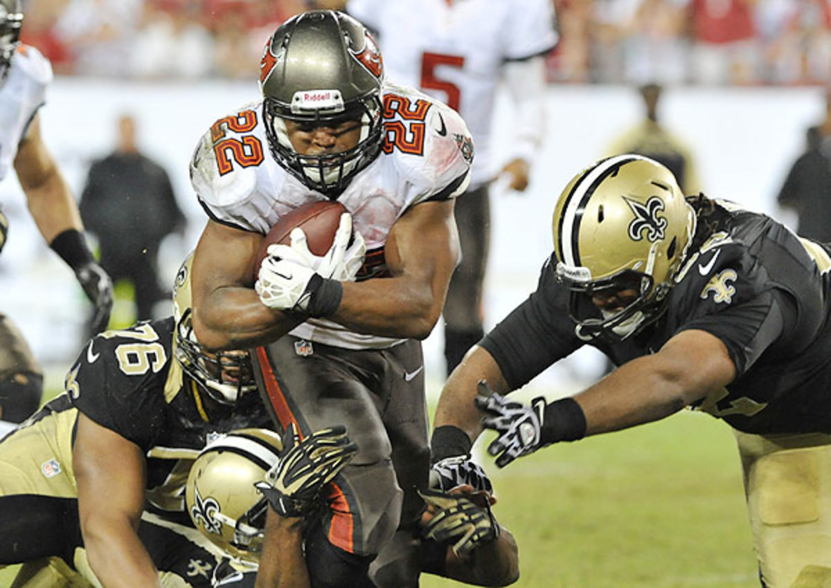Doug Martin injury update: Tampa Bay Buccaneers RB medically cleared