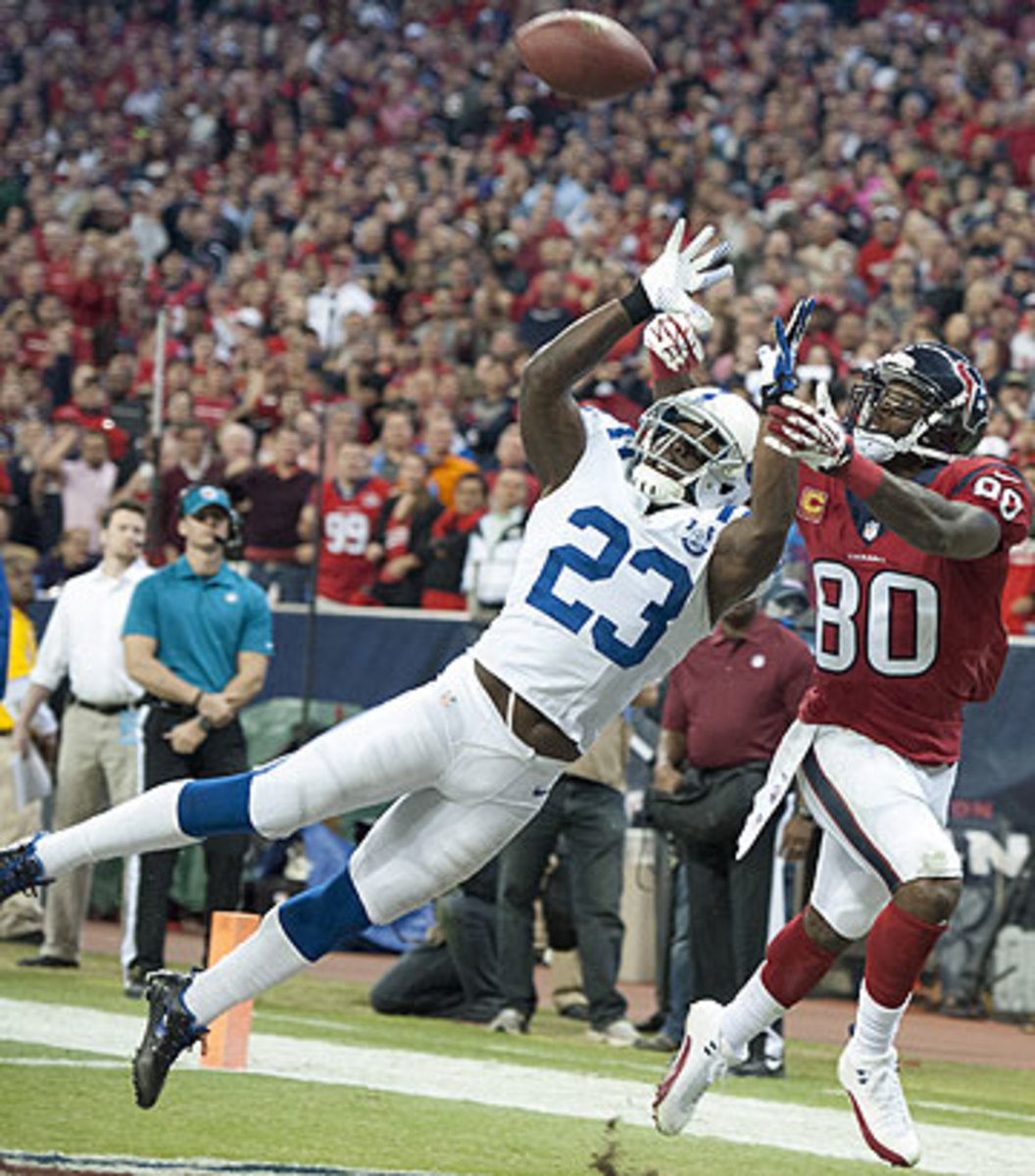 Vontae Davis is expected to be one of the most sought-after cornerbacks in free agency. (George Bridges/Getty Images)