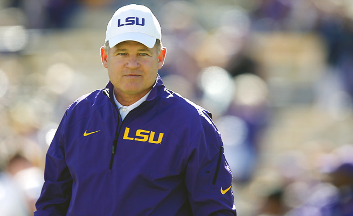 It will be more than four years before Zadock Dinkelmann can play for Les Miles at LSU.