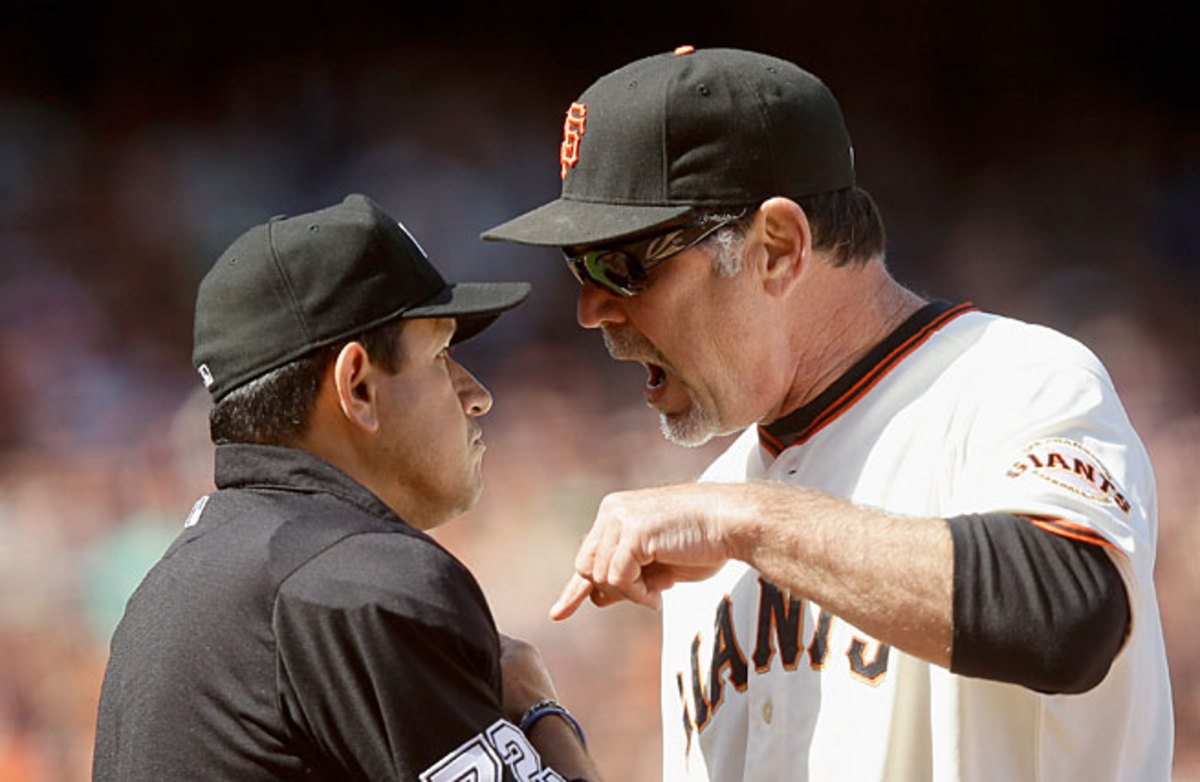 Some things will change with the new challenge system, which will make a rookie out of even veteran managers like Bruce Bochy.