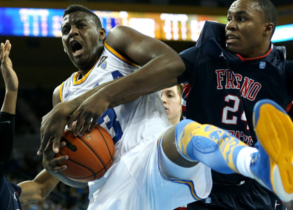 Jordan Adams has trimmed down from his playing weight at UCLA.