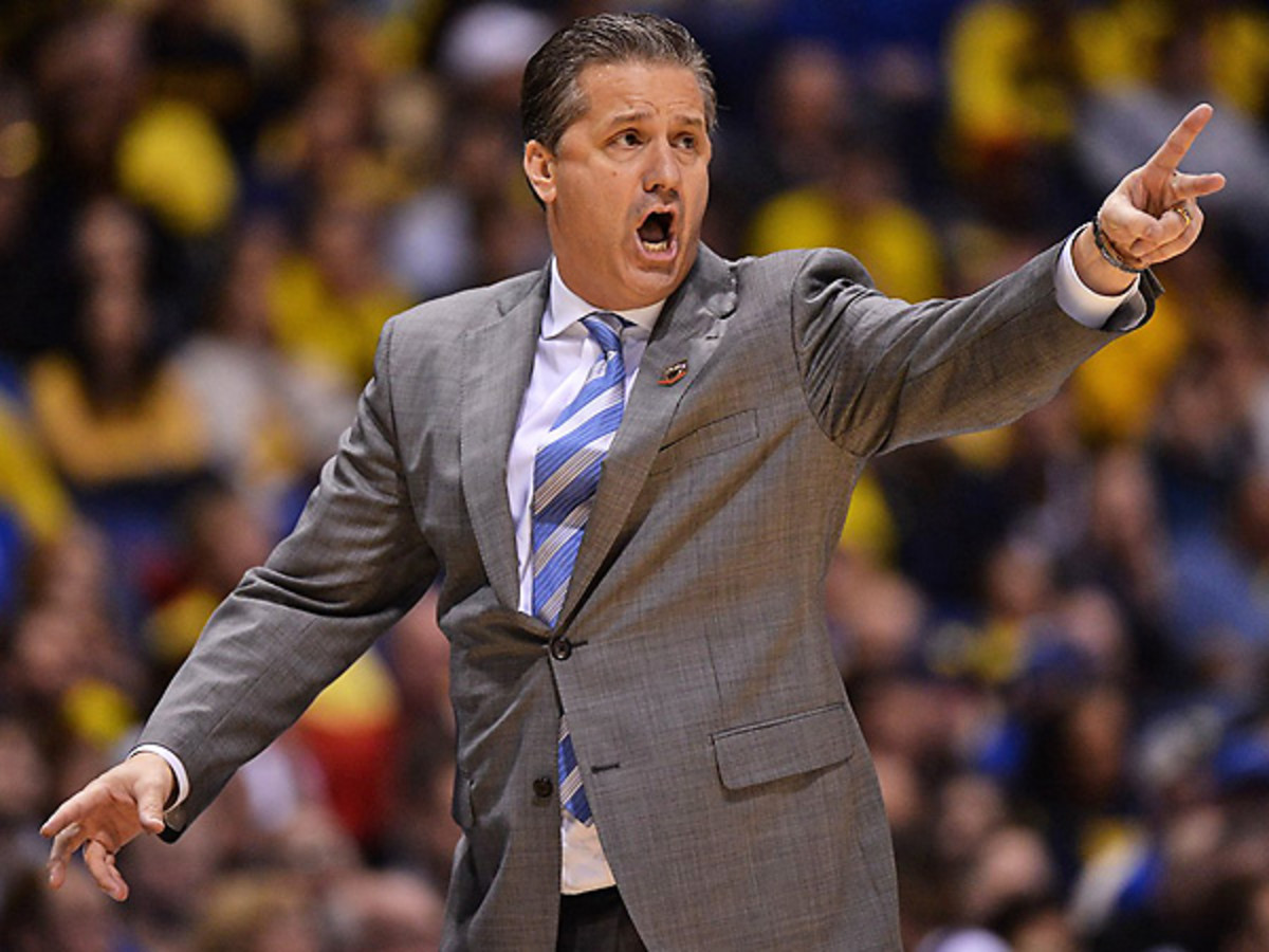 "Kentucky players say John Calipari has made a ""tweak"" which has helped spur the 'Cats big run. (David E. Klutho/SI)"