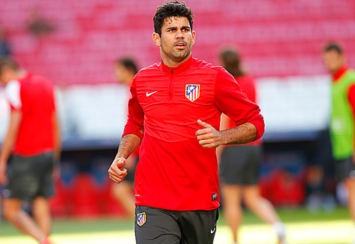 Spain selected Atlético Madrid forward Diego Costa to its World Cup roster amidst injury concerns.