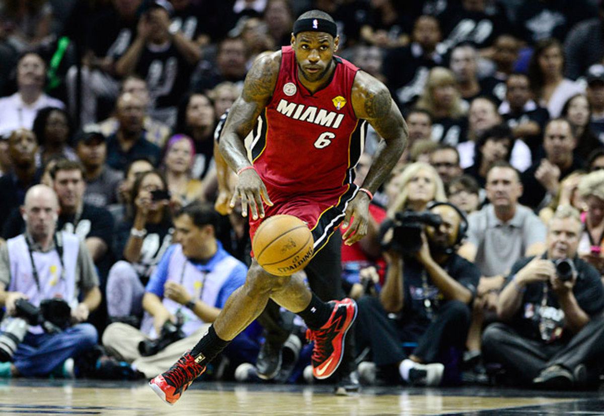 How long will LeBron James chase titles in Miami without considering a change of scenery?