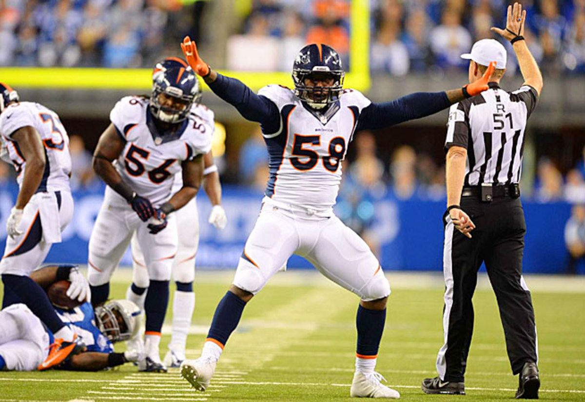 A suspension and torn ACL plagued Von Miller's 2013 season. This year, he has much to prove.
