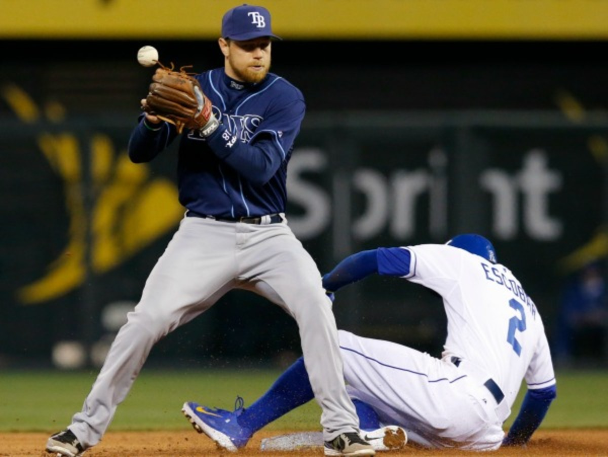 Ben Zobrist's drop in April was one of the controversial calls that led to a reported rule change. (AP)