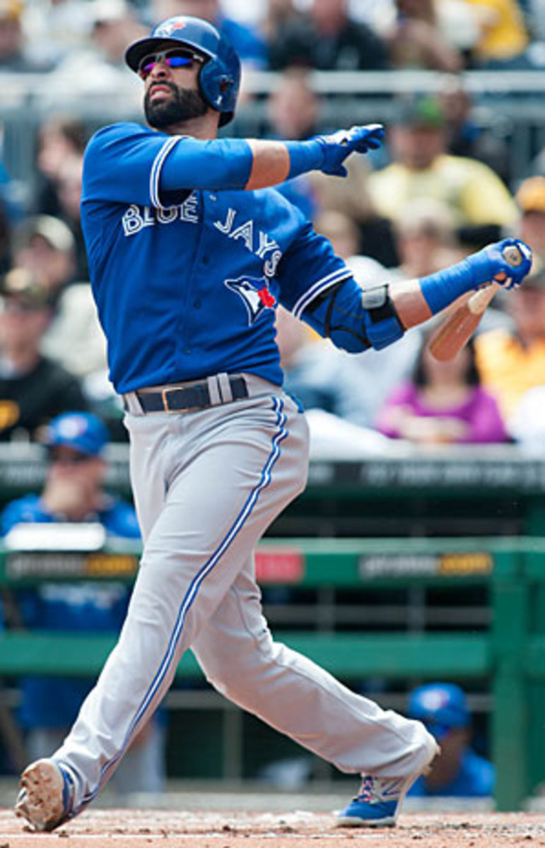 Jose Bautista has two previous top-four finishes in the AL MVP voting.