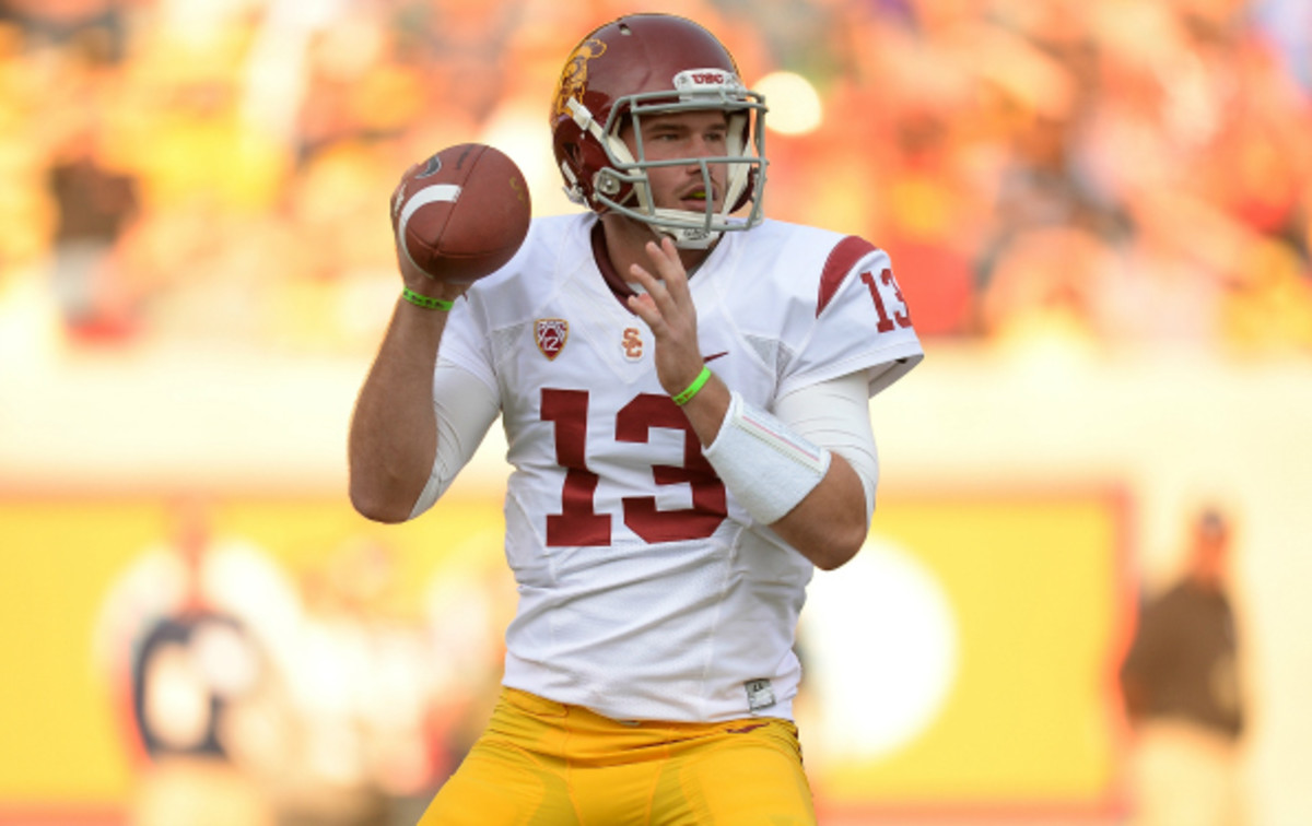 Max Wittek threw 3 touchdowns and 6 interceptions in his USC career. (Thearon W. Henderson/Getty Images)