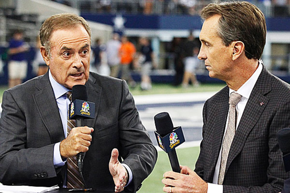 Al Michaels and Cris Collinsworth have been together on NBC since 2006. (Ray Carlin/Icon SMI)