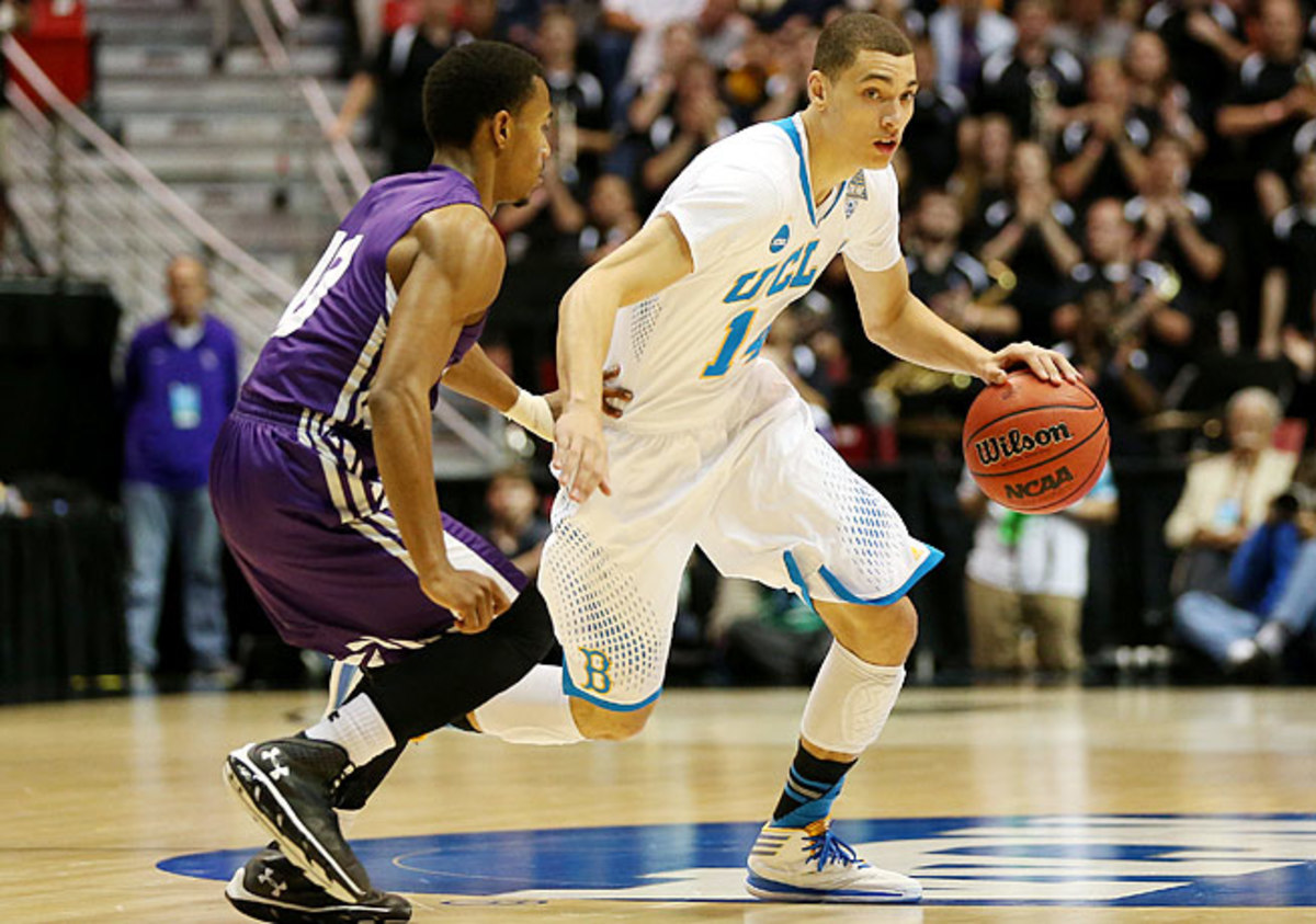 Zach LaVine, who played one season in college, wants to prove that he can flourish as a point guard.