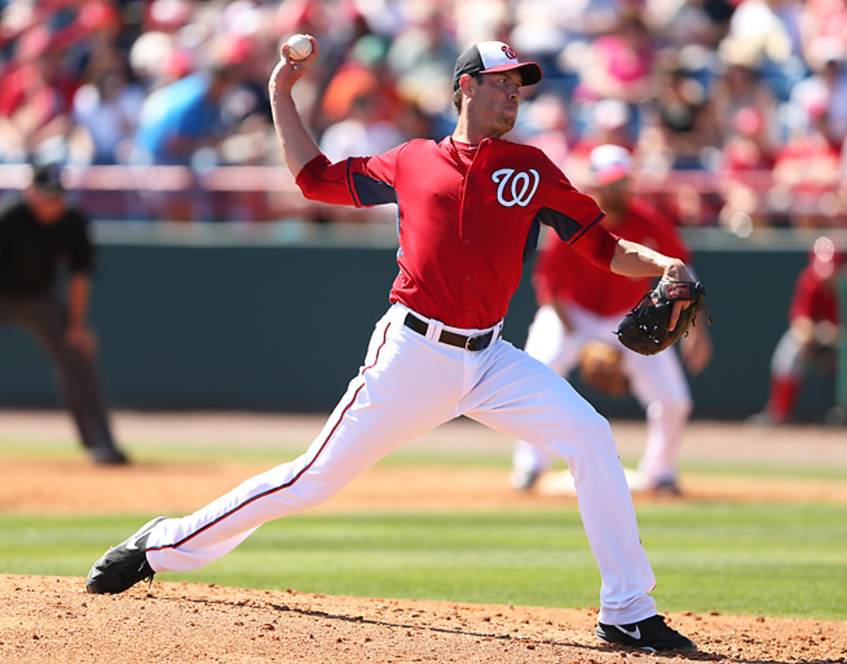 New Nationals' acquisition Doug Fister will begin the season on the 15-day disabled list.