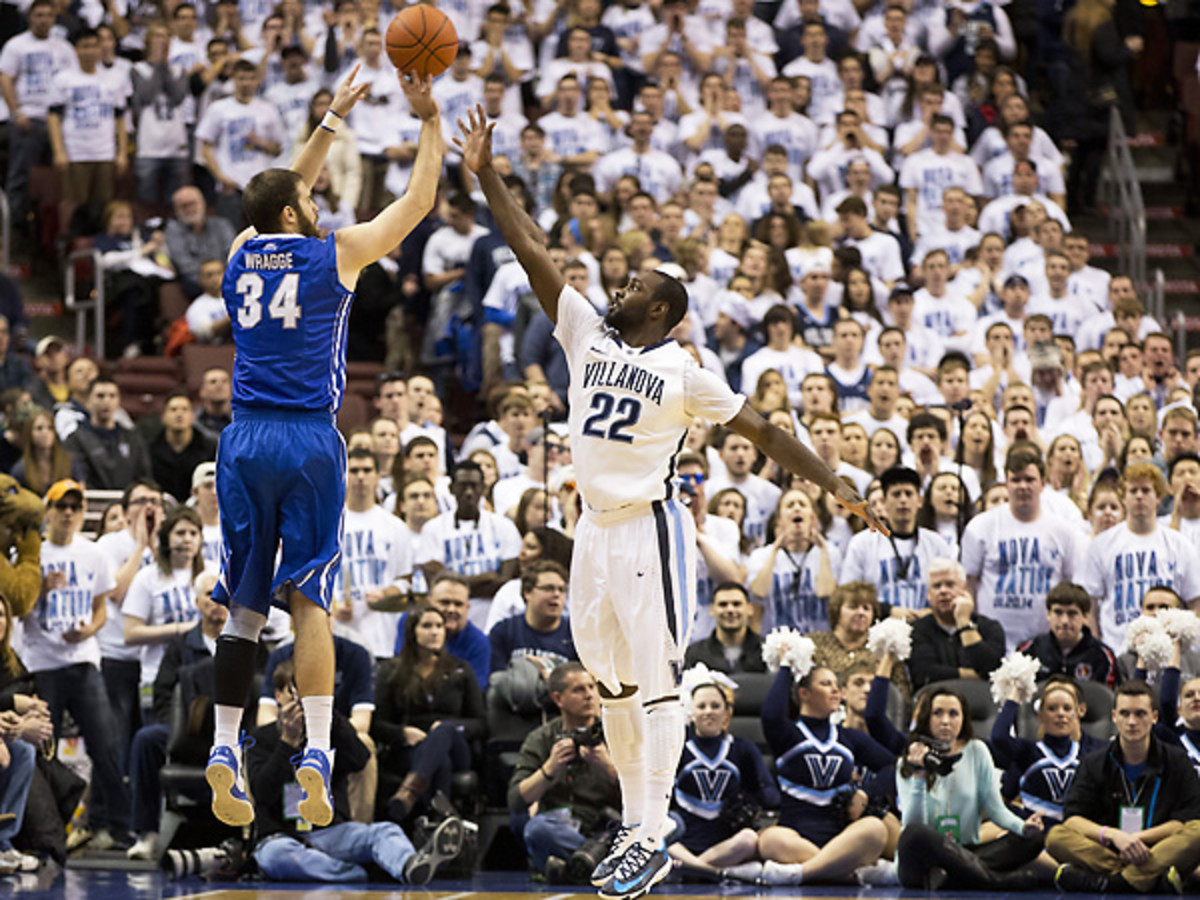Ethan Wragge and Creighton had a legendary shooting night against Villanova. (Mitchell Leff/Getty Images)