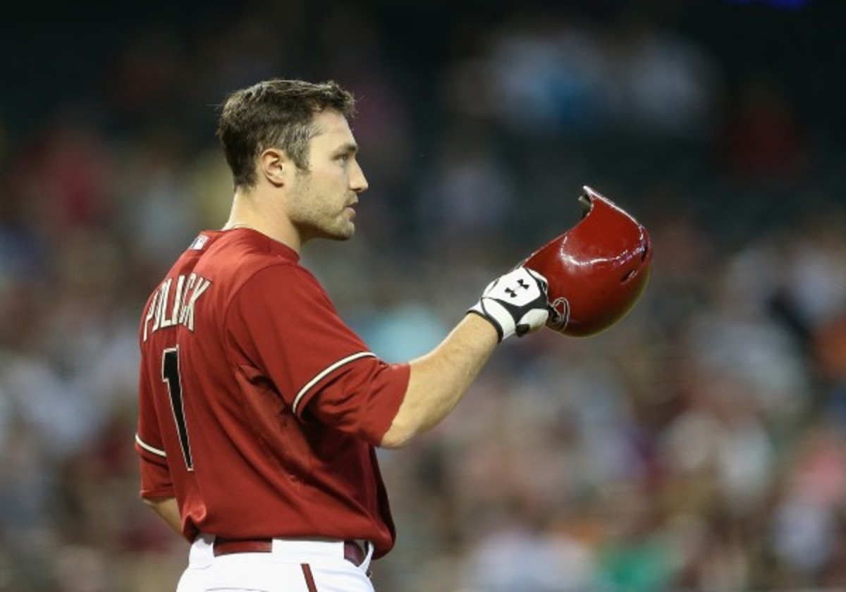 A.J. Pollock was hitting .316 with a .366 on-base percentage and .554 slugging in 192 plate appearances. (Christian Petersen/Getty Images)