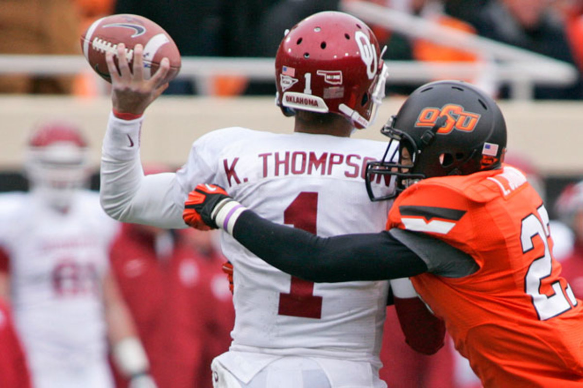 Kendal Thompson may have struggled for playing time next season because QB Trevor Knight, a redshirt freshman last season, was the MVP of the Sugar Bowl.