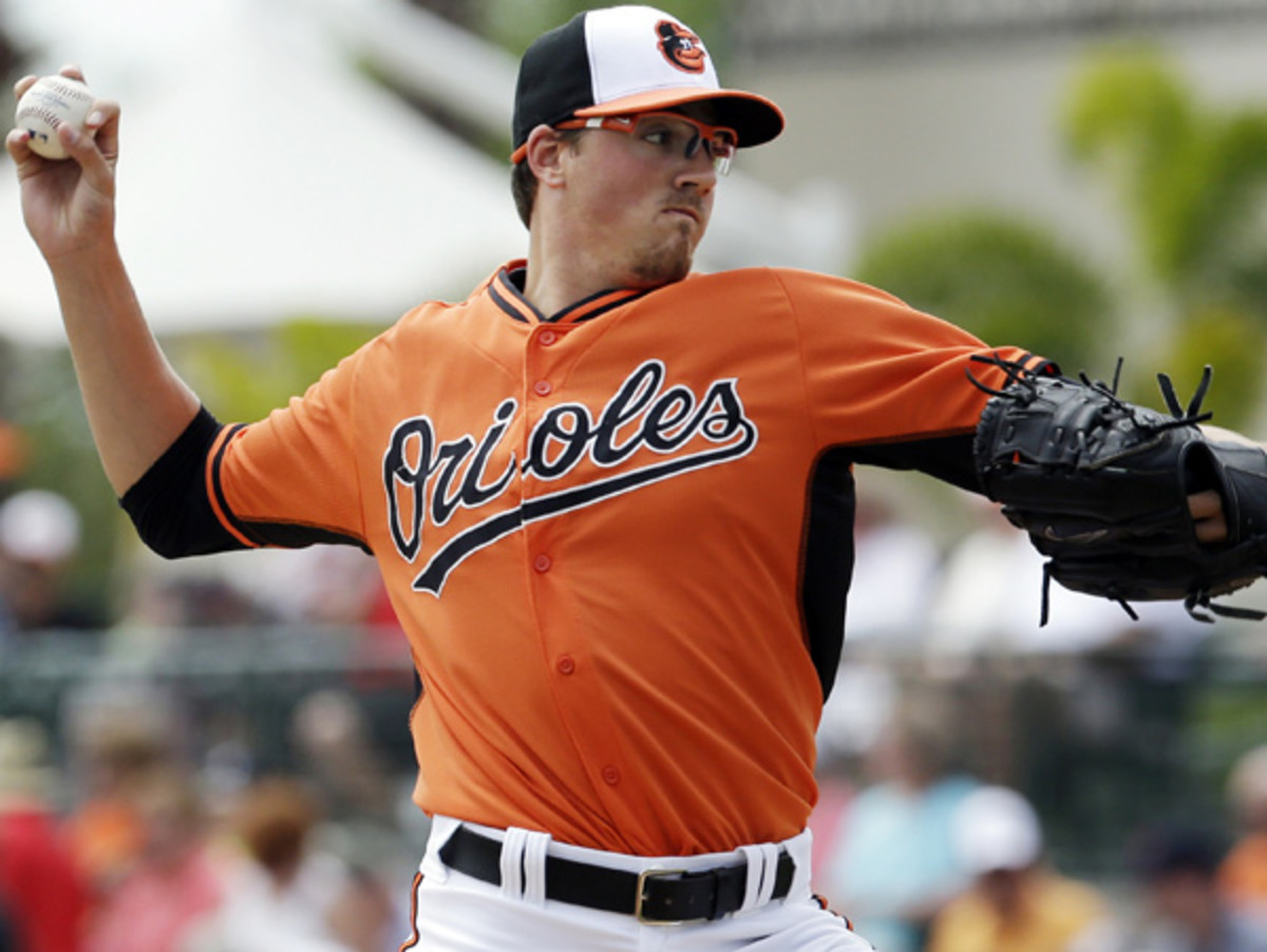 Kevin Gausman will make the sixth big league start of his career on Wednesday vs. Detroit. (Carlos Osorio/AP)