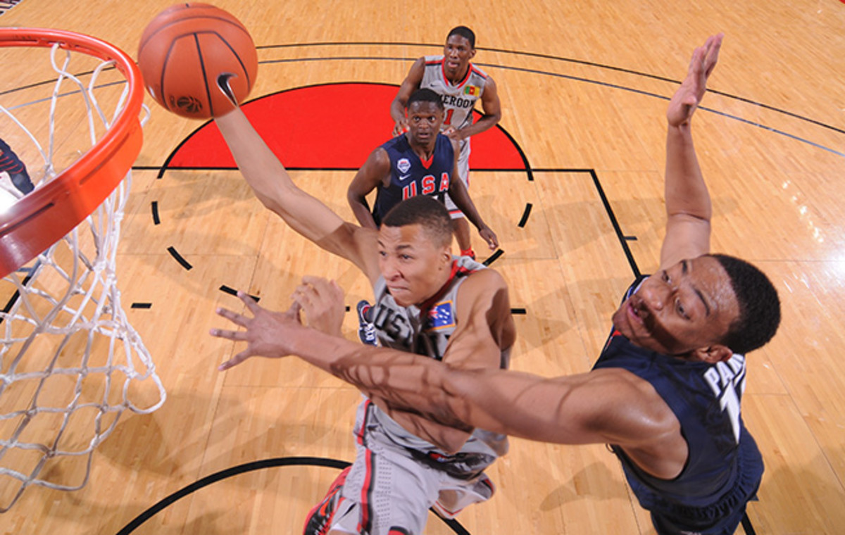 Dante Exum, 18, is likely to be one of the first guards taken in the 2014 NBA draft.