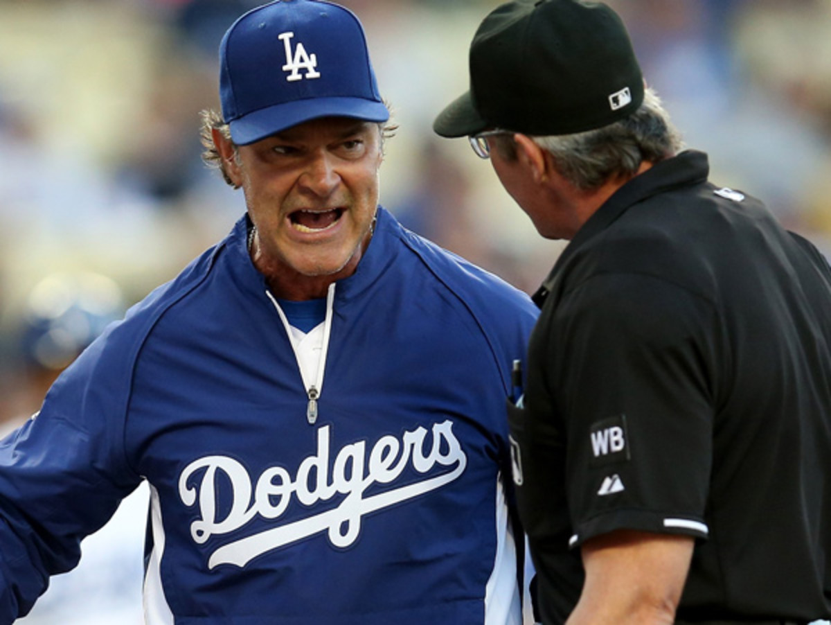 Don Mattingly and the Dodgers trail San Francisco by 7 1/2 games in the NL West. (Stephen Dunn/Getty Images)