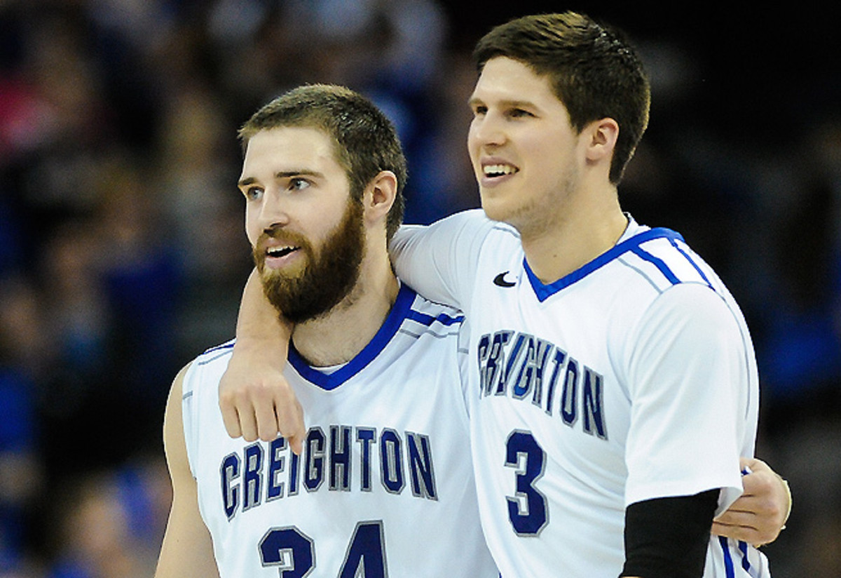 Ethan Wragge (L), the best one-note scorer, and Doug McDermott, the best high-usage scorer.