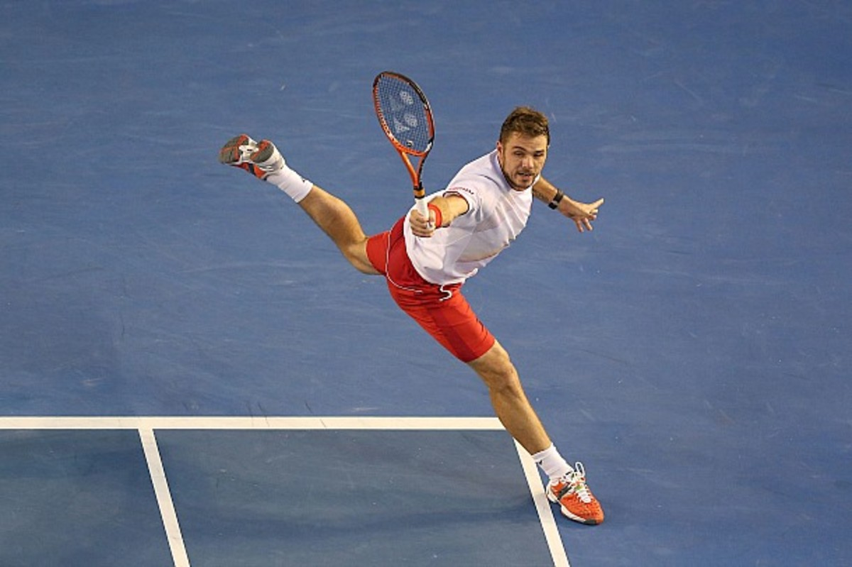 Win or lose, Wawrinka will be the No. 1 Swiss on Monday. (Michael Dodge/Getty Images)