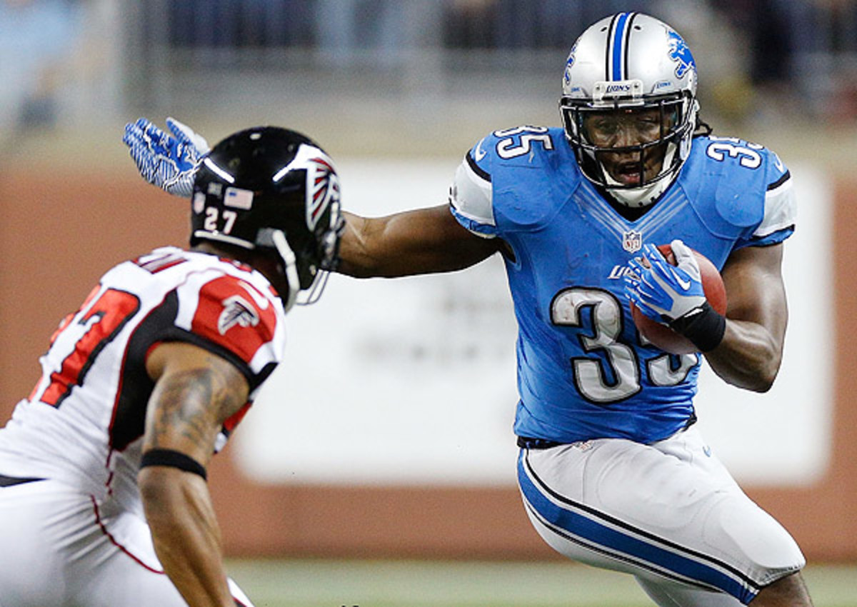 Joique Bell had 52 catches out of the backfield for the Lions last season.